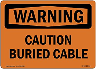 Best buried cable sign Reviews