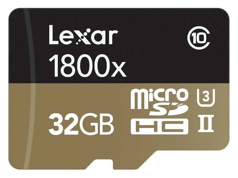 やりすぎクリップ蝶生き残りLexar Professional 1800x microSDHC 32GB UHS-II W/USB 3.0 Reader Flash Memory Card - LSDMI32GCRBNA1800R [並行輸入品]