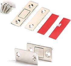 Raburt Gatenvrije magnetische deursluiter kastdeurmagneten ultradun voor keukenkast kledingkast