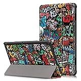YuanZhu Funda para Lenovo Tab E10, Carcasa Ultra Delgado y Ligero con Cubierta de Soporte para Lenovo Tab E10 - Tablet de 10' Full HD