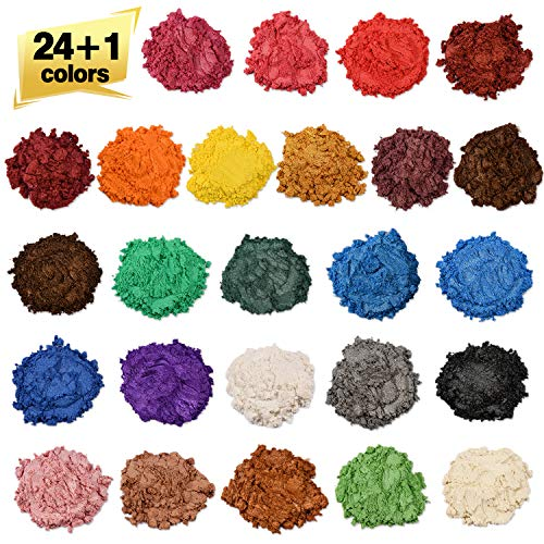 Soap dye - Mica powder - Pigment powder for bath bomb -...