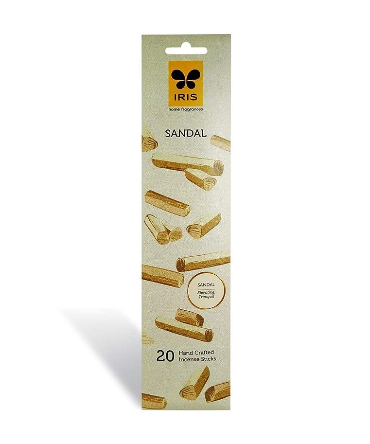 ひそかにピラミッド持参IRIS Signature Sandal Fragrance Incense Sticks