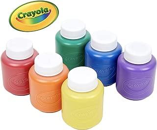 Crayola 繪兒樂 6色幼兒可水洗顏料 54-1204(新老包裝更替 隨機發貨)