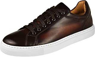 Magnanni Mens Shoes Wallace Cup Sneaker 21419-Mdbrown