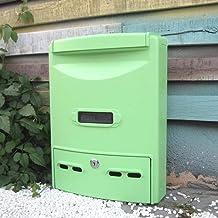 Mailbox Postbox Outdoor Waterdichte Brievenbus Muur Creatieve Suggestie Doos Retro Villa (Kleur: Groen)