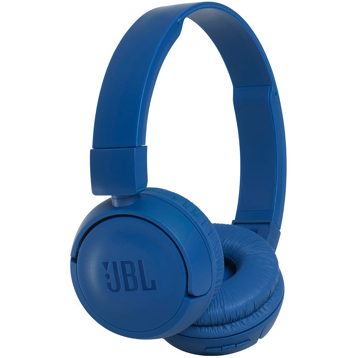 JBL Harman T450 Bluetoothヘッドセット折りたたみ式ヘッドフォン軽量 - ブルー