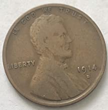 lincoln cent 1914 d