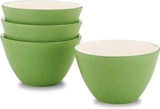 Noritake 4-Inch Colorwave Bowl, Mini, Apple Green, Set of 4