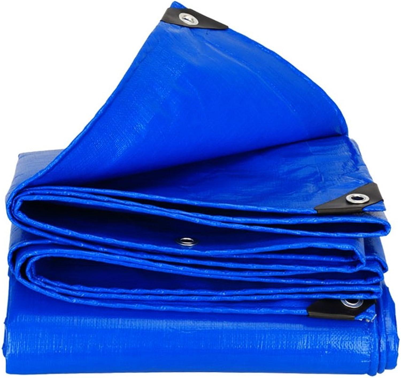 LEGOUGOU Blaue Planeplane wasserdichte Und lfeste Plane Ultralight Dreiradplanenwindschutzscheibe, Strke 0.35mm, 180g   M2, 15 Grenwahlen