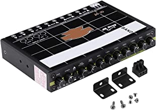 Cuque Advanced Professional Car Audio Modified Graphic Equalizer Fever Class EQ Car Equalizer Audio Stereo Tuner 7 Band of Sound Customization with 3.5mm Auxiliary Input