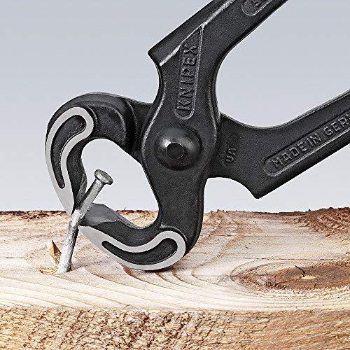 KNIPEX 50 01 250 EAN Tenaza para carpintero negro atramentado recubiertos de plástico 250 mm