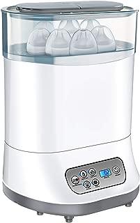OMORC Esterilizador de Biberones, 5 en 1 Desinfecta/Seca