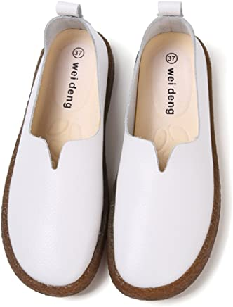 014ed9612e Luyomy Women's Over Drive Slip-On Casual Loafer Genuine Leather Driving  Moccasins Slip-On