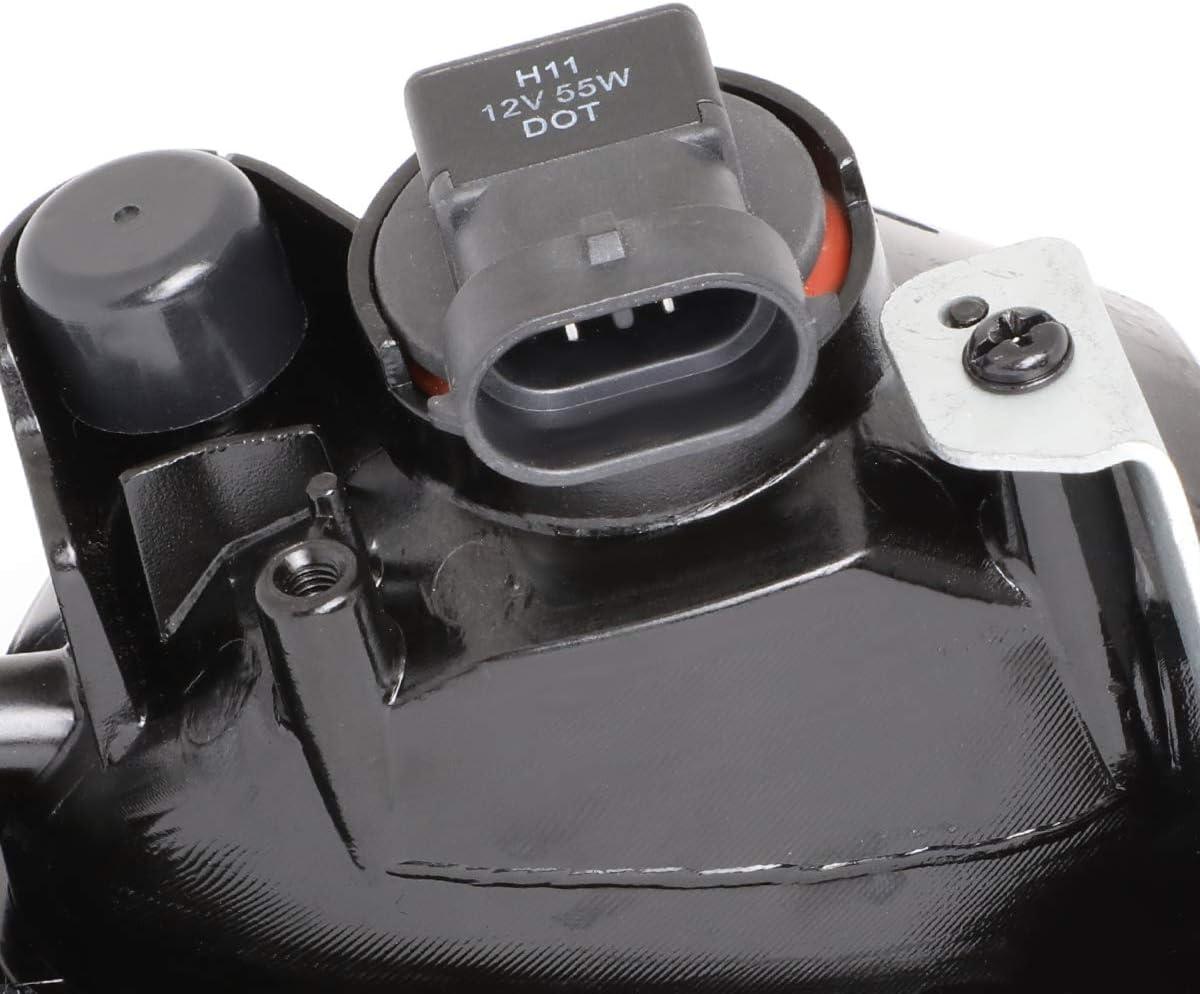 DNA Motoring FL-OEM-0069R Right OE Style Fog Light//Lamp For 03-05 Honda Accord Sedan