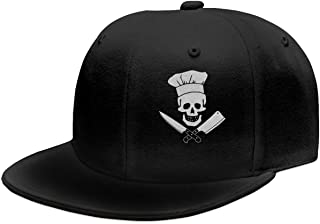 OASCUVER Skull-Chef Cooking Skull Hat Grill Master Unisex Fashion Snapback Hats
