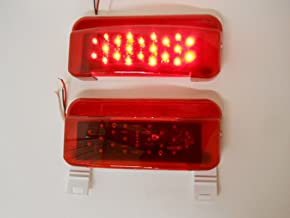 Optronics RVBST56P Driver Side Tail Light Black Base with Built-in Back-Up Light