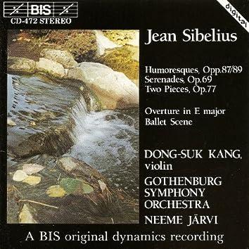 Sibelius: 6 Humoresques / 2 Serenades