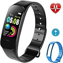 Lintelek Fitness Tracker, Activity Tracker, Kids Band, Step Counter IP67 Smart Bracelet for Kids, Women and Men
