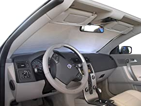 The Original Windshield Sun Shade, Custom-Fit for Volvo C70 Convertible 2006, 2007, 2008, 2009, 2010, 2011, 2012, 2013, Silver Series