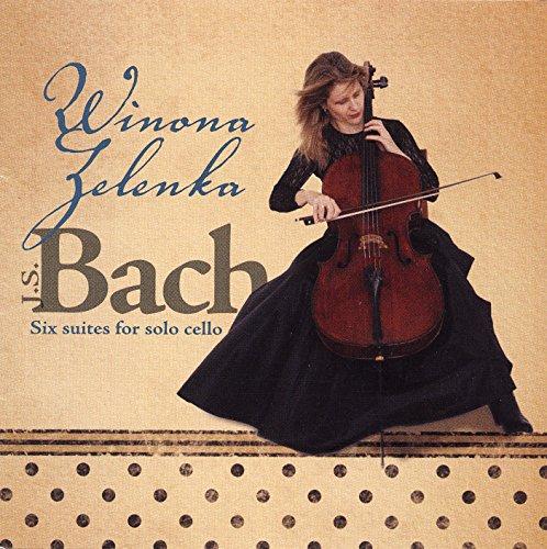 Bach : 6 Suites pour violoncelle. Winona Zelenka.