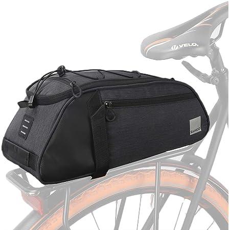 Fahrradtasche Fahrrad Gepäckträger Tasche Wasserdicht Schwarz E-Bike 1.5L NEU