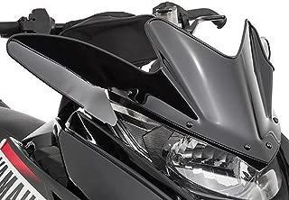 Yamaha SR Viper Low Snowmobile Windshield Black 9.5