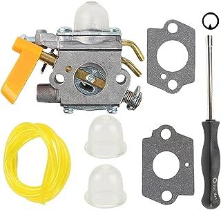 Hilom C1U-H60 Carburetor for 25cc 26cc 30cc Ryobi Homelite String Trimmer RY28100 RY28120 RY28121 RY28140 RY28141 308054013 308054012 308054004 308054008 308054077 with Adjusting Tool