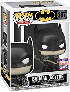 Funko Batman with Scythe Pop Vinyl Figure, Black