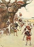 The Poster Corp Cecil Aldin – White Ear & Peter 1912 Fox