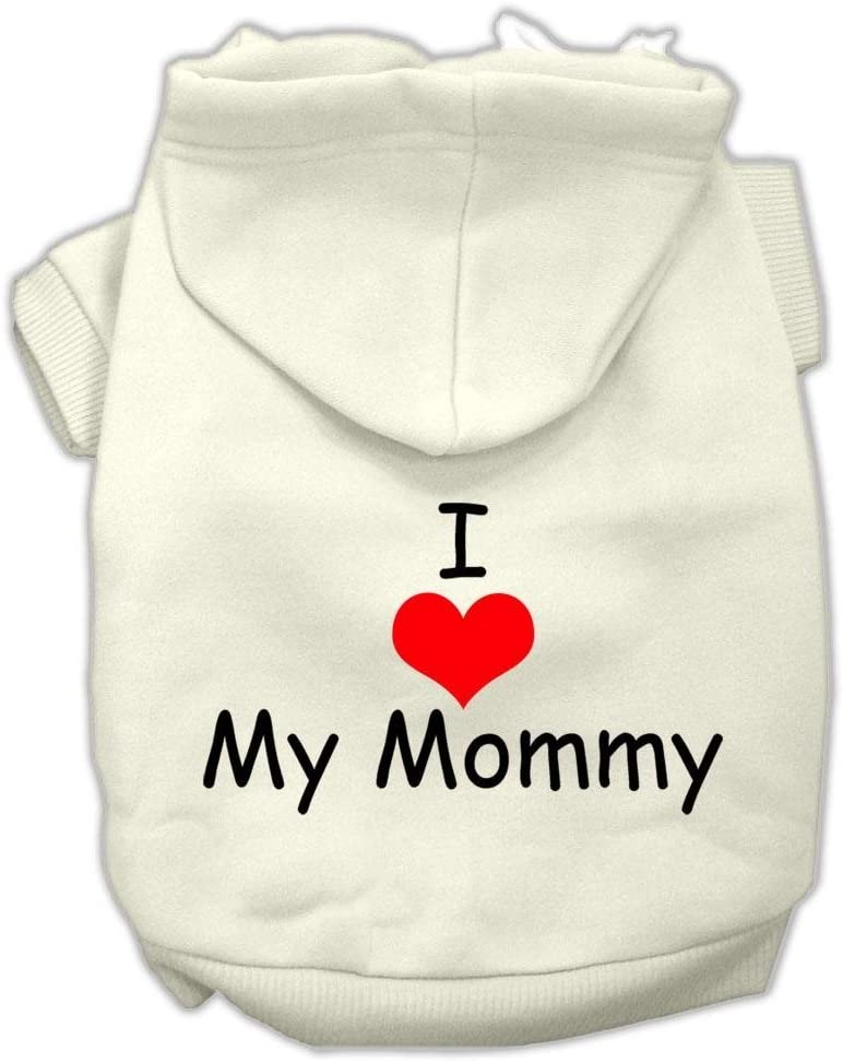 Mirage Pet Products I Love My Mommy ! Super beauty product restock quality top! gift Hoodies Cr Print Screen