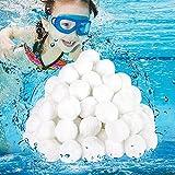 Tycoonomo Filtros de bolas, 500 g de bolas de filtro que pueden reemplazar la arena de filtro/arena de cuarzo, bolas extra duraderas para filtros de arena de piscina, bomba de filtro.