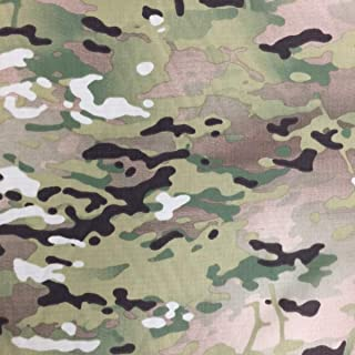 Multicam OCP Camouflage Ripstop Fabric 100% Nylon 61 Inch Wide Sold by The Yard