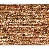 murando Fotomurales 400x280 cm XXL Papel pintado tejido no tejido Decoración de Pared decorativos Murales moderna de Diseno Fotográfico Ladrillo f-B-0015-a-a