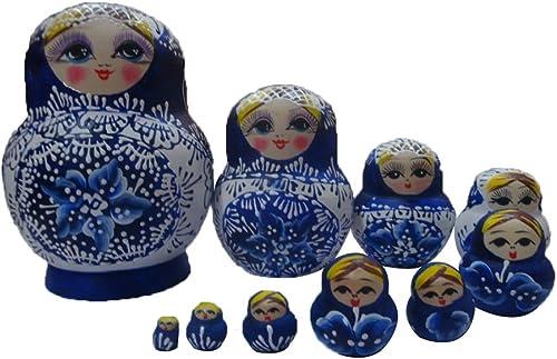 mejor calidad mejor precio Madera Madera Madera de madera Nesting ruso muñeca  ventas al por mayor