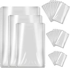 Aluminum Foil Bags, 30 PCS 3 Sizes Foil Mylar Bags Smell Proof Storage Bags Foil Pouch Bag for Food, Coffee, Tea, Beans, Hardware Parts (5 x 7 inch x 10pcs, 6 x 9 inch x 10pcs, 8 x 11 inch x 10pcs)