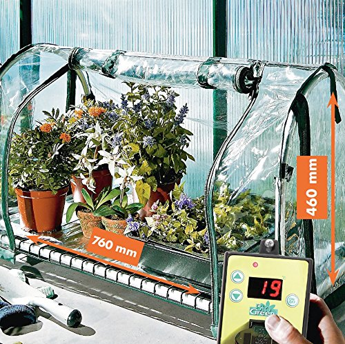 Bio Green Aufzuchtartikel Grand Top Aufzuchtstation beheizt, Transparent