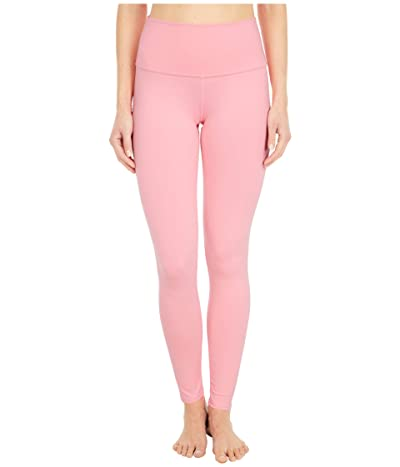 ALO High Waist Airbrushed Leggings (Macaron Pink) Women