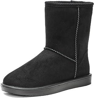 DKSUKO Women`s Classic Waterproof Snow Boots Winter Boots