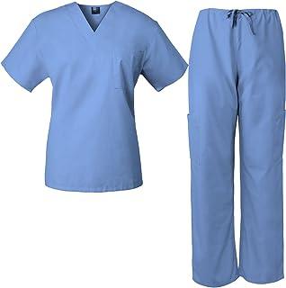 303b30caf74 Medgear Scrub Set Unisex Top and Drawstring Pants (13 Colors) 7881