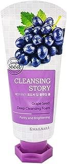 Kwailnara Cleansing Story Grape Seed Deep Cleansing Foam Cleanser 120ml