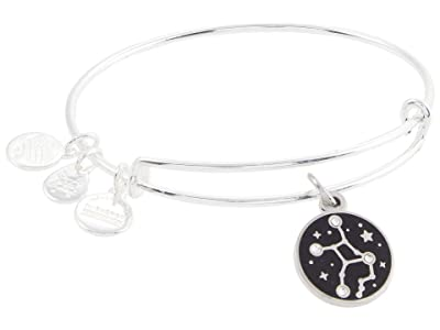 Alex and Ani Color Infusion Virgo Bangle Bracelet (Shiny Silver) Bracelet