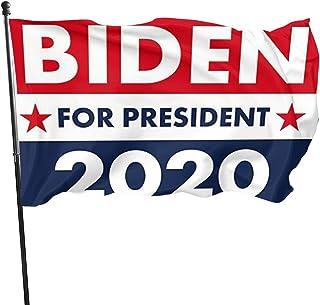 CUICAN Biden Flag - Biden 2020 Flags Biden Fans Gift, Single-Sided 3x5 ft Flag Banner for Indoor or Outdoor Use