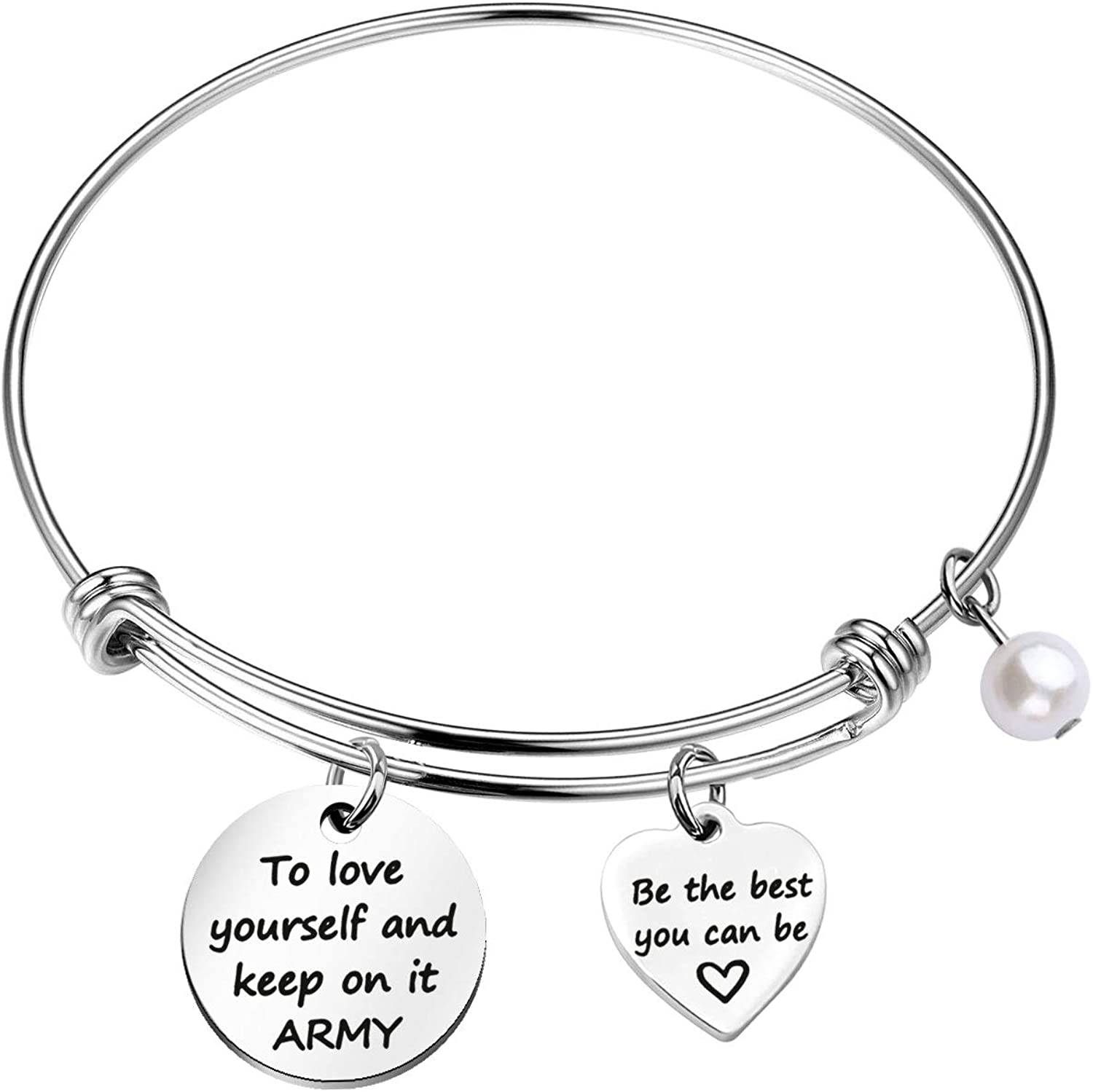 WSNANG Free shipping / New SALENEW very popular Kpop Army Gift to Love Brace Yourself On and It Keep