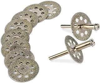 丸穴付き回転式ダイヤモンドカッティングディスク直径22mm 10枚セット