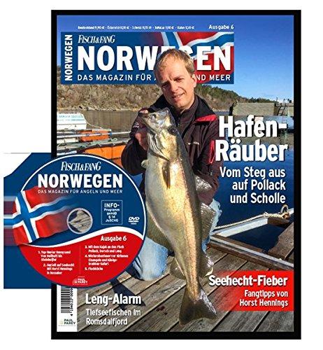 FISCH & FANG Sonderheft Nr. 36: Norwegen Magazin Nr. 6 + DVD: Das Magazin für Angeln und Meer (Norwegen Magazin: Das Magazin für Angeln und Meer)