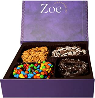 'Cravings by Zoe' Belgian Chocolate Covered Pretzels - An Assortment of Milk and Dark Chocolate -The Unmatched Chocolate Experience | Great Gift Basket for All Occasions