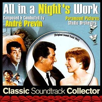 All in a Night's Work (Original Soundtrack) [1961]