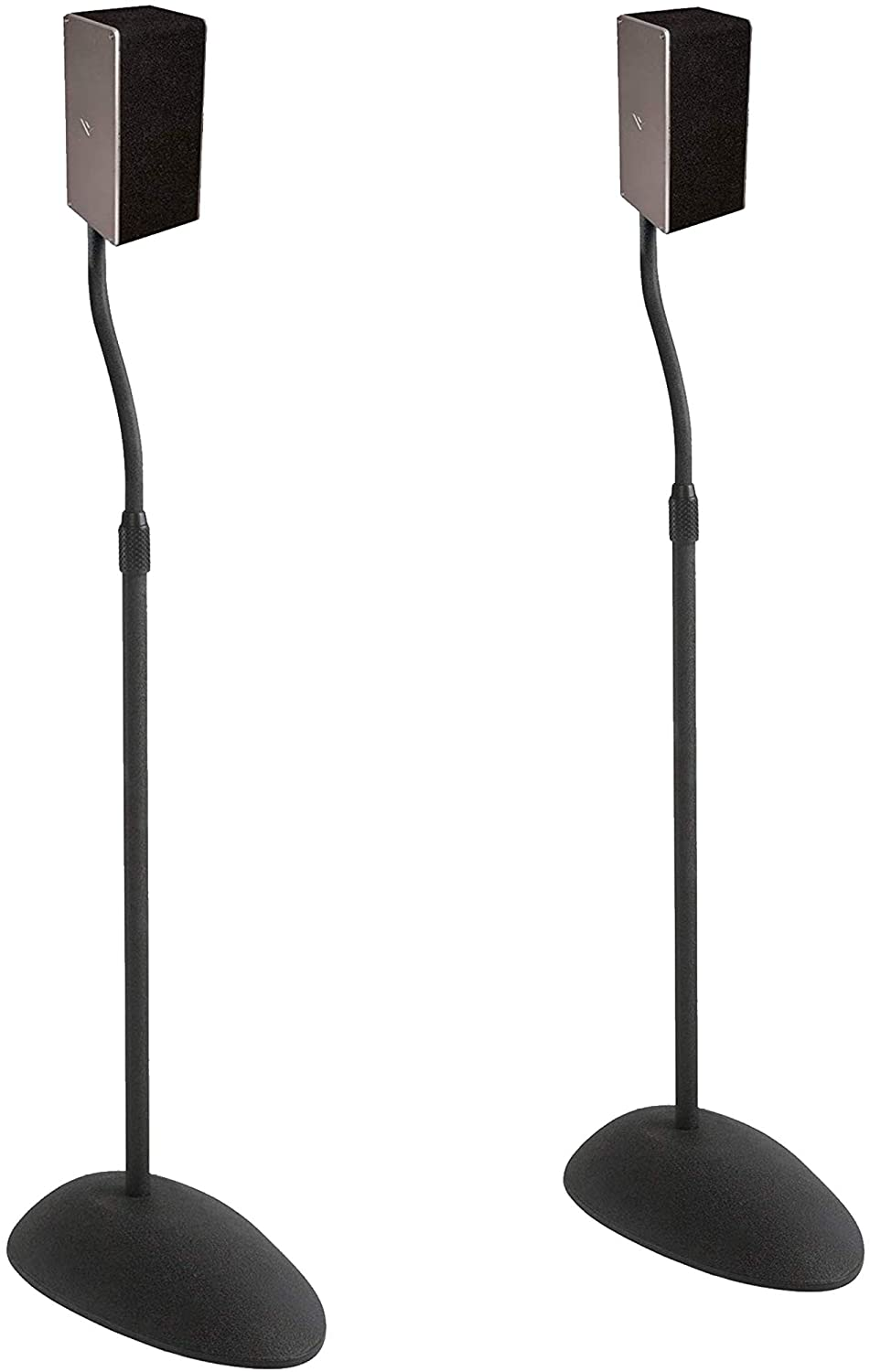 ECHOGEAR Bombing Selling and selling free shipping Adjustable Height Speaker - Compatibil Stands Universal