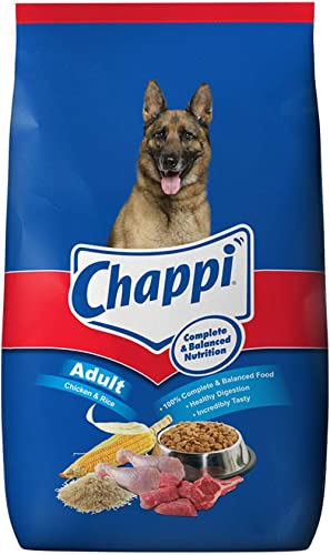 Chappi Adult Dry Dog Food, Chicken & Rice, 20kg Pack