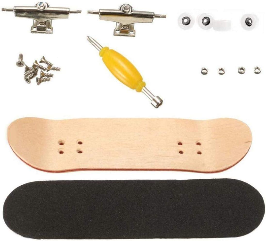 EElabper Wood Fingerboard Maple Super popular specialty store Finger Slip Non 4 years warranty Mini Skateboard